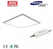2ft x 2ft led panel light fixture with (3 in 1)dimmable meanwell-42W