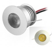 3W non-dimmable led puck light fixture