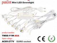 2016 upgraded led mini recessed downlight kit