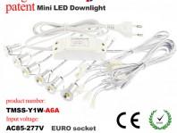 2016 upgraded led mini recessed downlight kit