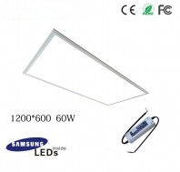 60W 12060 led panel light fixture with Samsung 5630SMD, TUV led driver, 4ftx2ft