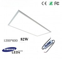 82W 12060 led panel light fixture with Samsung 5630SMD, TUV led driver, 4ftx2ft