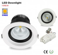 led recessed downlight, 4inch, 20W, 3000K