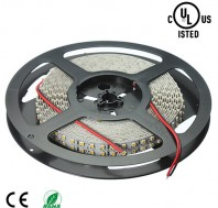 12V 600leds SMD5050 double row warm white(2700-3500K) high power LED flexible light strip