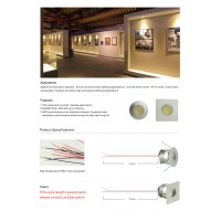 commercial lighting, interior decoration light, led household lighting, LED recessed light, puck light