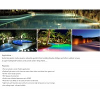 swimming lighting, outdoor lighting, outdoor led landscape light, underground lighting, LED in ground lighting