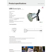 landscape lighting, led well light, garden lighting, pathway lighting, LED in ground lighting