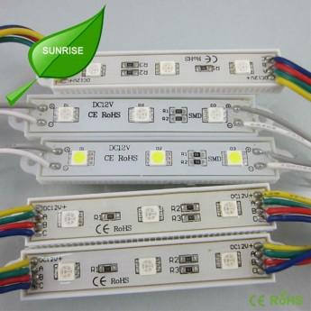 12V 5050 waterproof LED RGB modules