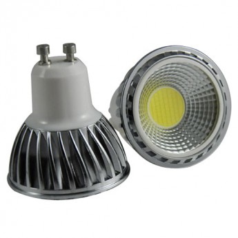 high performance 5W GU10 COB led lamp 500lm