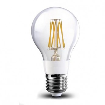 8w A19 outdoor led filament bulb/E27 warm white led fixtures(2700K)