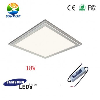 18W 3030 super thin panel light with Samsung 5630 SMD leds, TUV led driver