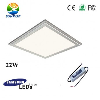 22W 3030 kitchen panel light with Samsung 5630 SMD leds, TUV led driver