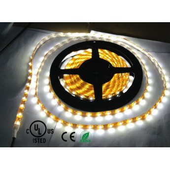 12v 300leds 3528 white/warm white waterproof led ribbon strip light 8mm wide