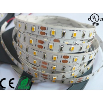 12V 300leds 2835SMD warm white(2700-3500K) led flexible light strip, non-waterproof