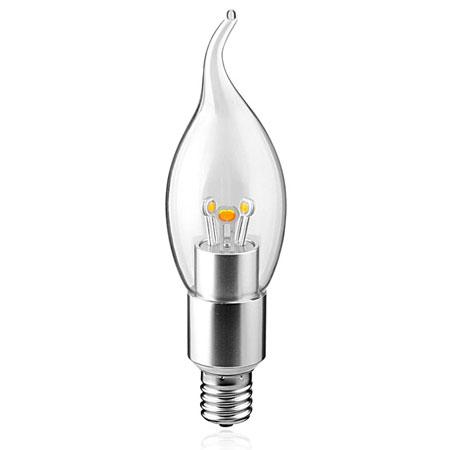 clear led light bulbs, decorative led bulbs,energy saving led candle bulbs,dimmable led candle bulbs, 6000K led candle light,