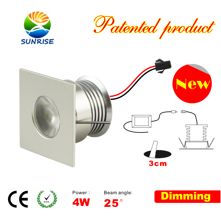 4w dimmer led recessed puck lights fixture sunrise kitchen lighting closet lighting under cabinet lighting cove lighting 12v puck lights mozeypictures Gallery