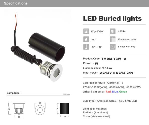 12 24vdc 12vac Low Voltage Led In Ground Light Sunrise